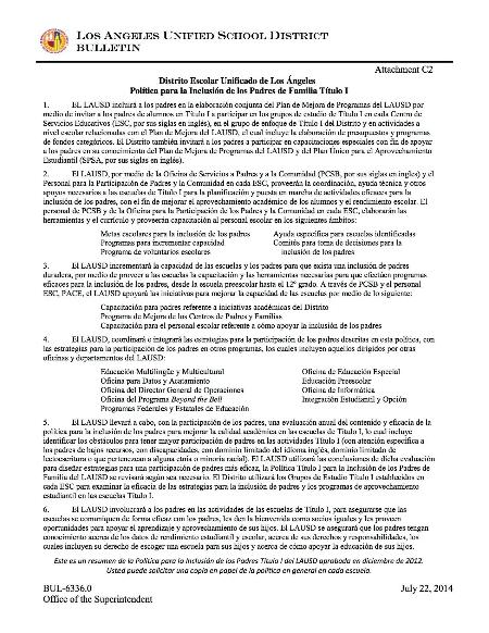 ATTACHMENT C2 LAUSD Title I PIP Summary SPANISH.jpg